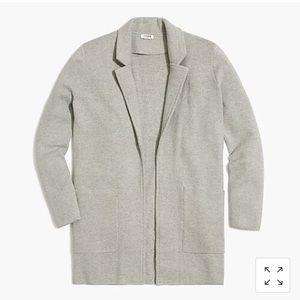 Open-front sweater blazer - NWT